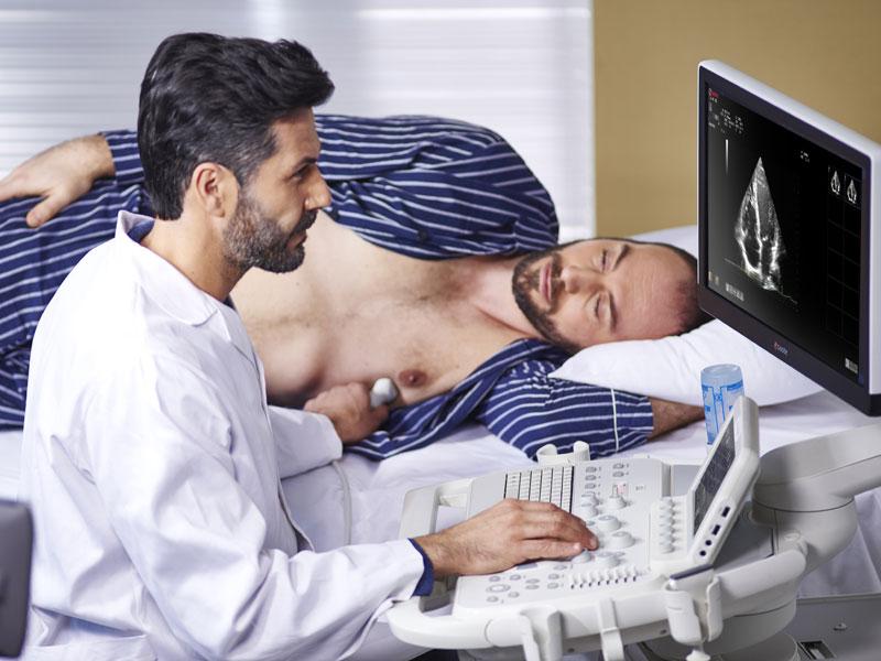Ultrazvočni pregled - stol za ultrazvočista SonoErgo