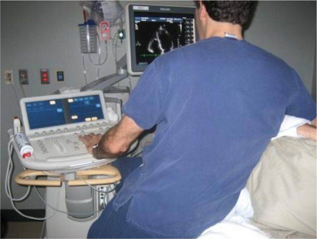 nevaren položaj za ultrazvočista